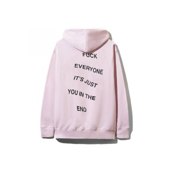ASSC It's Just You Hoodie Pink - Swan Fashion Store