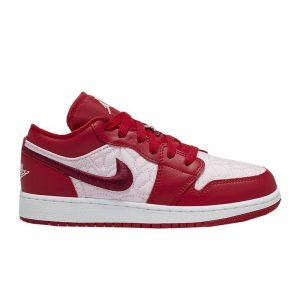 Jordan 1 Low SE Red Quilt (GS) - Swan Fashion Store