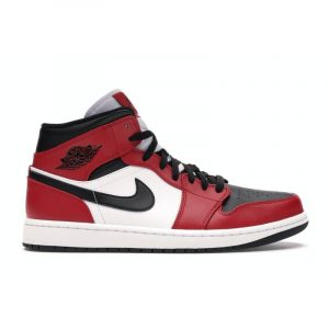 Jordan 1 Mid Chicago Black Toe - Swan Fashion Store