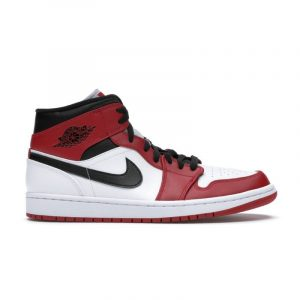 Jordan 1 Mid Chicago White Toe - Swan Fashion Store