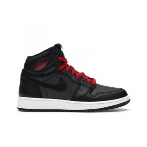 Jordan 1 Retro High Black Satin (GS) - Swan Fashion Store