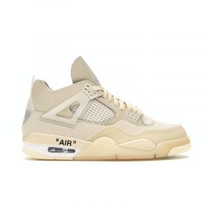 Jordan 4 Retro Off-White Sail (W) - Swan Fashion Store