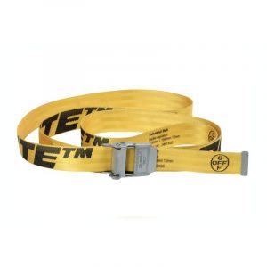 Off-White Industrial Belt 2.0 Yellow - Swan Fashion Store