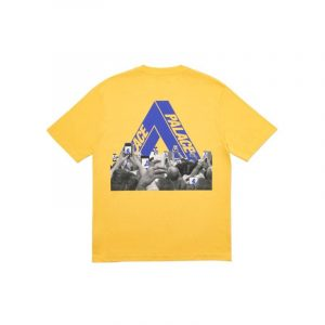 Palace Tri-Phone Tee Yellow - Swan Fashion Store