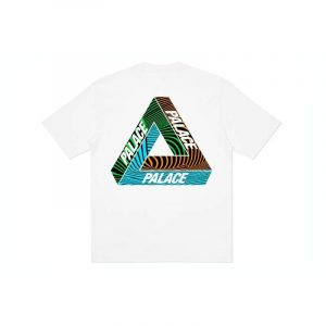 Palace Tri-Tex Tee White - Swan Fashion Store