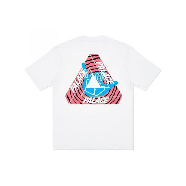 Palace Tri-Zooted Shakka Tee White - Swan Fashion Store