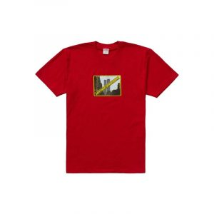 Supreme Greetings Tee Red - Swan Fashion Store