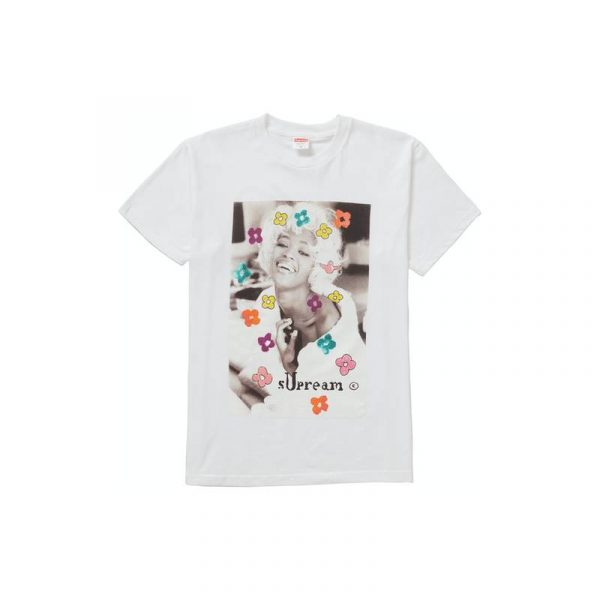 Supreme Naomi Tee White - Swan Fashion Store