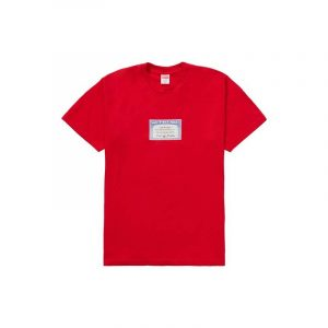 Supreme Social Tee Red - Swan Fashion Store