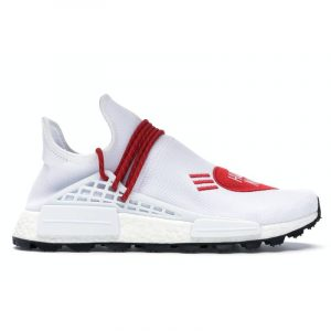 adidas Human Race NMD Human Made White Red - Swan Fashion Store