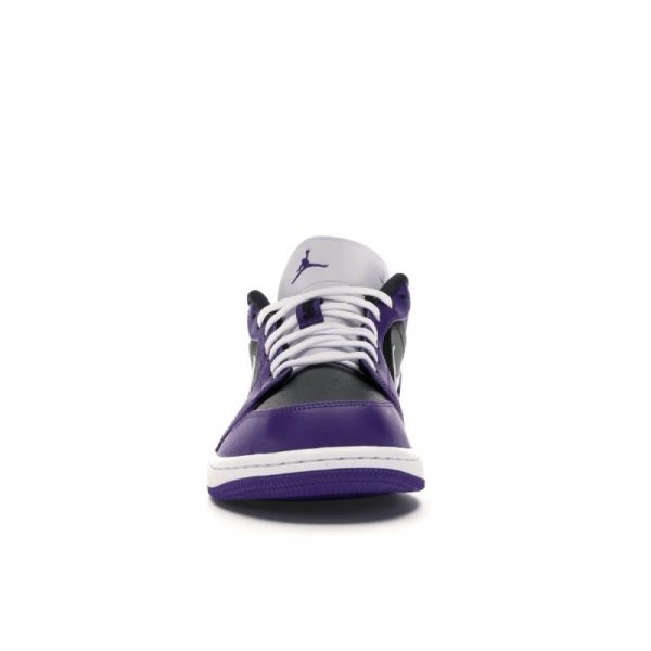 Jordan 1 Low Court Purple Black 1