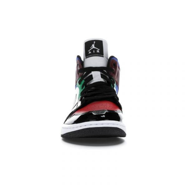 Jordan 1 Mid SE Black White Multi-Color (W) 1