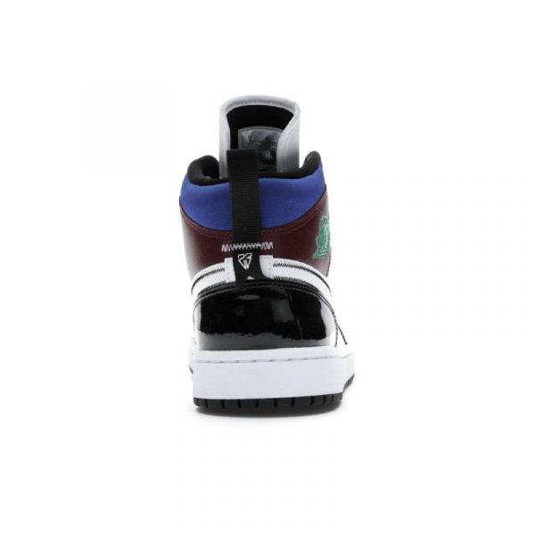 Jordan 1 Mid SE Black White Multi-Color (W) 3