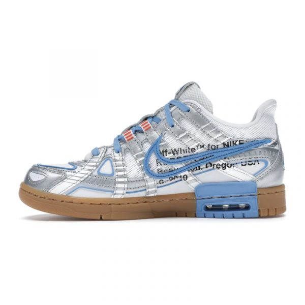 Nike Air Rubber Dunk Off-White UNC 2