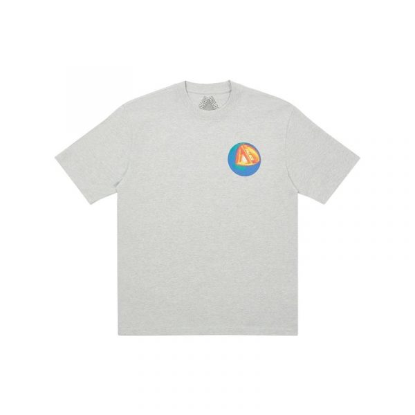 Palace Core T-Shirt Grey Marl 1