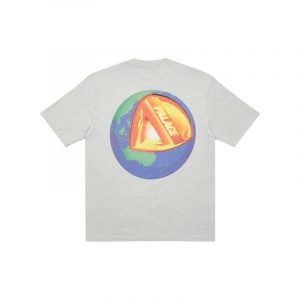 Palace Core T-Shirt Grey Marl