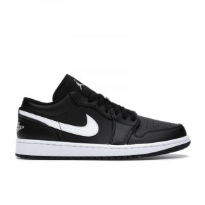 Jordan 1 Low Black White (W)