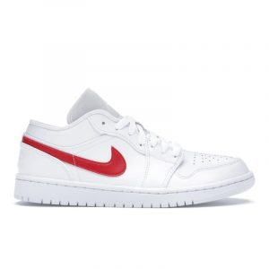 Jordan 1 Low White University Red (W)