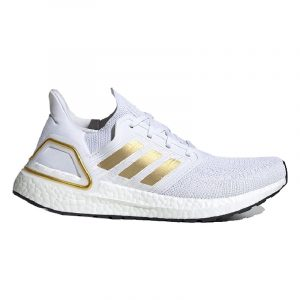 adidas Ultra Boost 20 Cloud White Gold Metallic