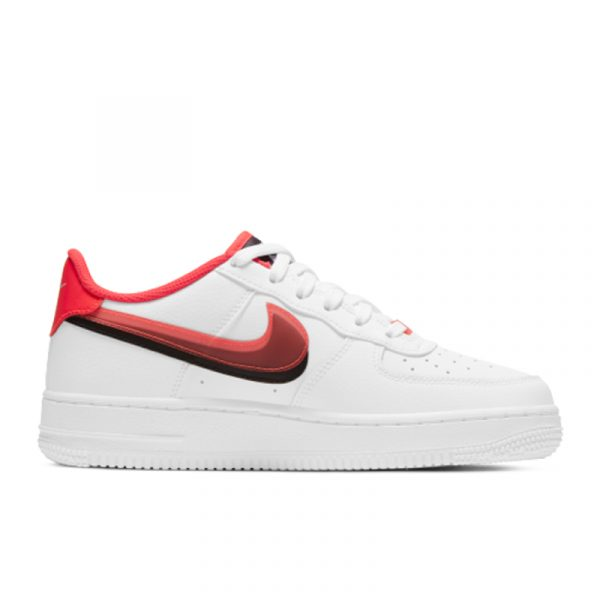 Nike Air Force 1 LV8 Double Swoosh Red Black (GS)