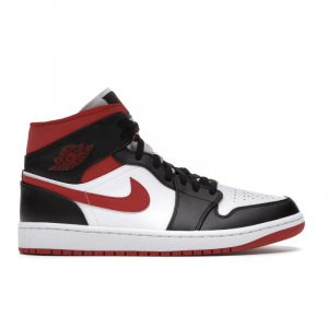 Jordan 1 Mid Gym Red Black White