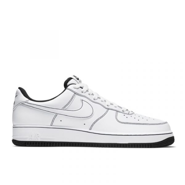 Nike Air Force 1 Contrast Stitch White Black