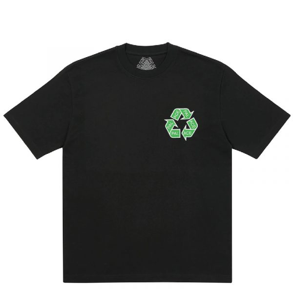 Palace P Cycle T-Shirt Black 1