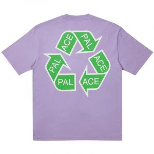 Palace P Cycle T-Shirt Purple