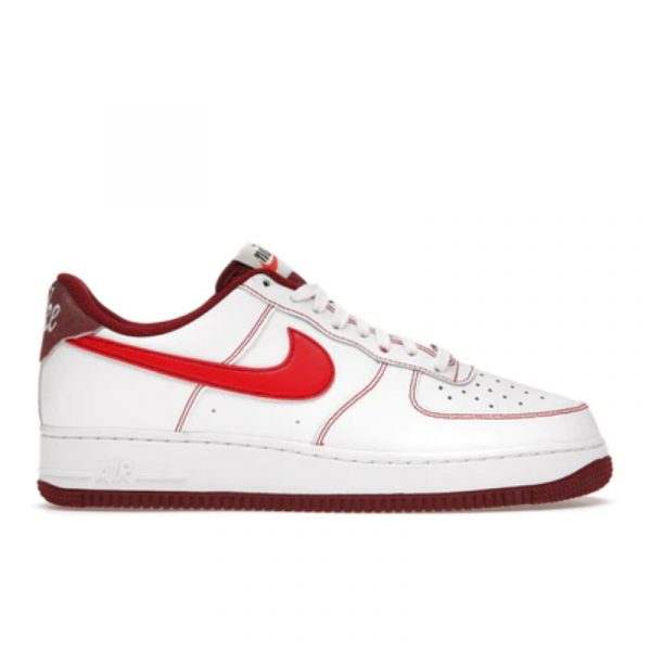 Air Force 1 '07 First Use White Team Red
