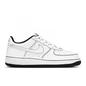 Air Force 1 Low Contrast Stitch White Black (GS)