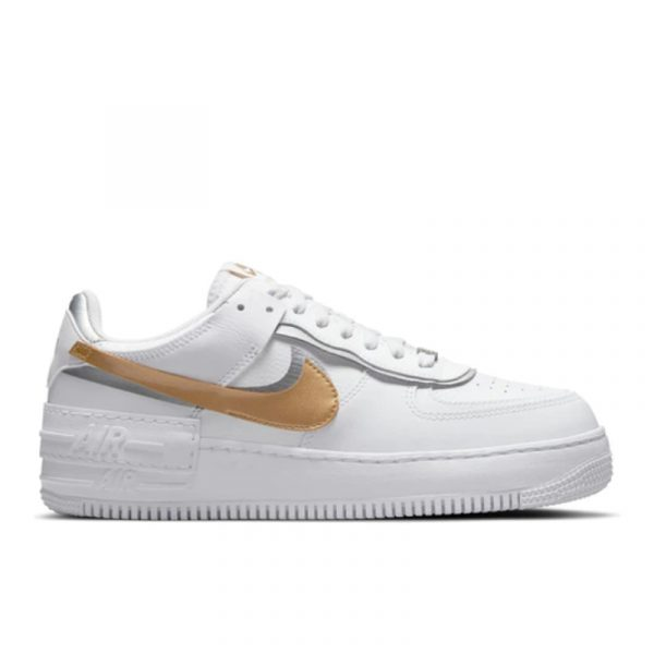 Air Force 1 Low Shadow White Gold (W)